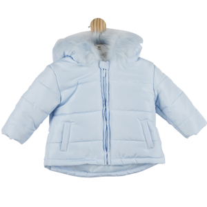 Mintini Baby Boys Jacket Blue