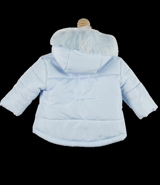 Mintini Baby Boys Jacket Blue - back
