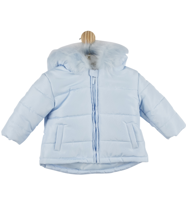 Mintini Baby Boys Jacket Blue