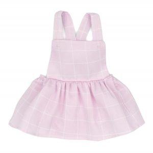 Girls Pinafore & Vest Set